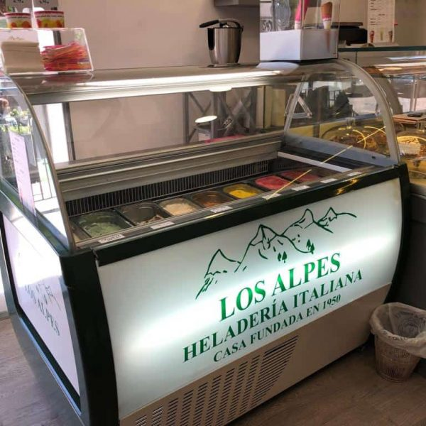 Helados Migas Madrid | Los Alpes